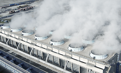 Cooling Tower 시설 사진